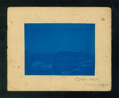 collected photographs #faded #cyanotype #landscape #photography #blue #coast #slide