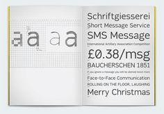 Typeface Fabrica Specimen Book High Legibility — Alvin Kwan