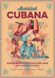 #Cuba #Havana #minimalism #folk #jazz #colorful #amistad #cubana #triangle #music #poster #band #retro #amistadcubana #buenavistasocialclub