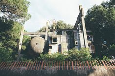 Exploring the Ruins of Rome's Casa Sperimentale