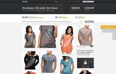 Sevenly #ecommerce #looking #homepage #nice