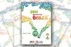 Conheça o pôster oficial da Copa do Mundo de 2014 Reprodução/ #ball #word #map #soccer #sports #2014 #poster #football #brazil #cup