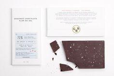 CBB FlordeSal01 #white #packaging #clean #simple #chocolate #info