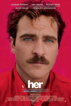 Her (2013) – Film Poster #photography #portrait
