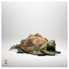 Jeremy Kool | Fubiz™ #turtle #brown #green