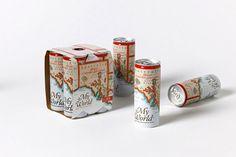 Olsson Barbieri via www.mr cup.com #packaging #type #print #illustration