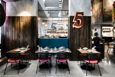 Vibrant Bangkok Streets Inspire Venue fit-out for Long Chim Melbourne - InteriorZine