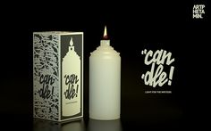 artphetamin's Can-Dle - Graffiti can shaped candle #graffiti #candle #can