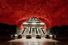 Stockholm Metro | Fubiz™ #photography