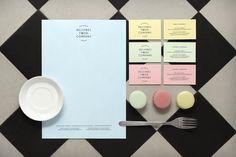 PRINT.PM #food #identity #branding #macaroons