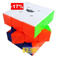 Cyclone #Boys #Speed #Stickerless #Magic #Cube #3 #x #3 #x #3 #Puzzles #Toy #- #MULTI-A