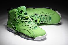 Nike Air Jordan 6 Retro Atomic Green Mens Shoes #shoes