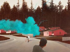 The Visual Work of Alex Roulette #color #painting