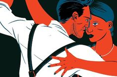 Shop Magazine Matt Taylor Illustration #illustration #dance #vintage #tango