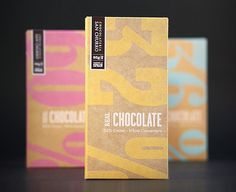 Sara Strand › Real Chocolate #packaging #chocolate #typography