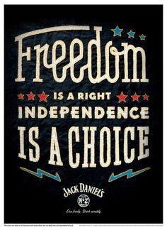 TheeBlog JackDaniels Independence3 #typography