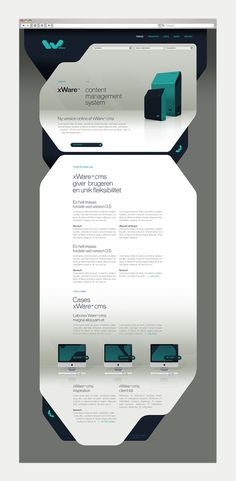 xWare Corporate Identity on Behance #webdesign