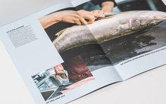Bookazine – wir essen by Büro Schramm #layout #editorial #print #typo