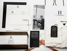 Paone Creative | Communication Design #haberdasher #logo #print #identity