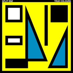 true_colours_yellow.jpg (512×512) #album #shapes #enz #cover #split #80s
