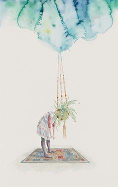Watercolor Illustrations by Carmel Seymour