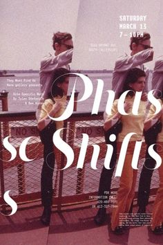 Phase Shifts Posters - Christopher Santoso #exhibition #christopher #poster #santoso