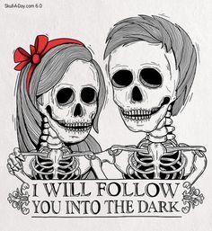 Lovely Bones #illustration #skull