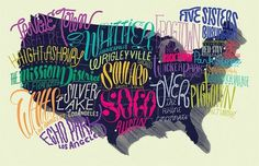 Eight Hour Day » Blog #illustration #type #color #pink #hugomarie