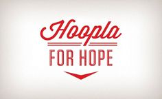 Hoopla for Hope 2011 Â« The Tenfold Collective Blog #script #retro #wordmark #typography