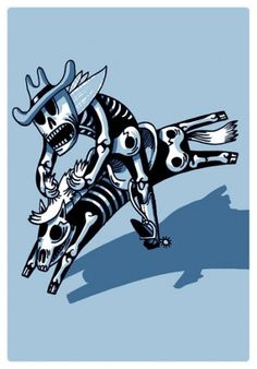 sérigraphies #skull rider