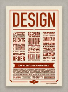 What is Design? #print #poster #typography