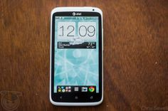 Head on view HTC One X LTE #htc