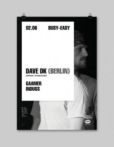 02.06.2012 Busy Easy Dave DK Poster A2 v1 #poster