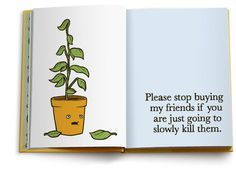 All my friends are dead. #illustration #death #plants