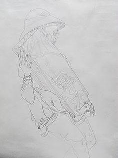 Ragna Mouritzen #mouritzen #ragna #drawing #art
