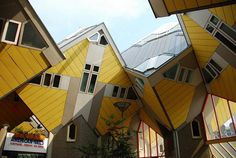 Cubic Houses (Rotterdam, Netherlands) #building #house #interesting