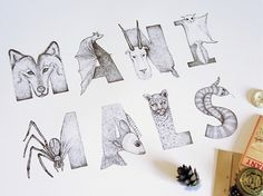 Maxim Magazine Lettering on the Behance Network #illustration #lettering #hand #typography