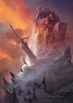 Frozen God by David Alvarez Art