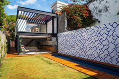 Compact Leisure Home Pays Tribute to Brazilian Modernist Architecture #architecture