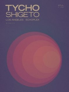 Tycho LA Ticket Giveaway » ISO50 Blog – The Blog of Scott Hansen (Tycho / ISO50) #tycho