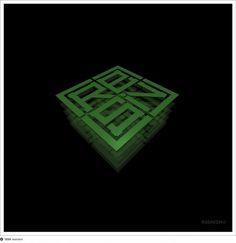 Green square #logo #resinism #square #green