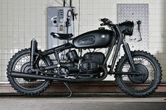 Cafe racers, custom motorcycles and bobbers | Part 3 #army #bmw #black #motorcycle