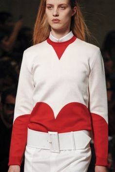 1/ Celine - Spring 2012 2/ Salvador Dalí| Nina Garcia #fashion #sweatshirt #celine