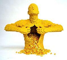 CJWHO ™ (Nathan Sawaya THE BRICK ARTIST ™ Nathan Sawaya...) #sculpture #lego #nathan #sawaya #design #art #clever