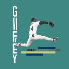 Sports! Heroes. | 03_The Kid #mariners #seattle #mlb #baseball #dnlkrgr #graphicdesign #type #typography #Akzidenz #glitch #collage
