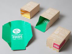 Sandwich or Salad on Behance #craft #package