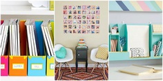 Impressive Colorful Touches to Complete Furniture in Dorm Room for Girls