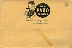 Pako Film | Flickr - Photo Sharing! #illustration #vintage #film #pako #ephemera