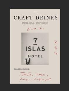 7 Craft drinks | Studio Patten