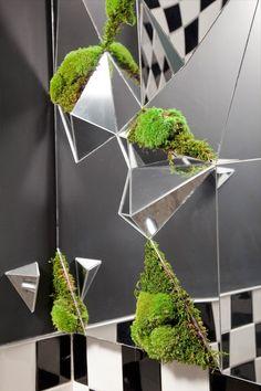 --RESTAURANT-- : Karim Charlebois-Zariffa #interior design #mirror #karim zariffa #accords
